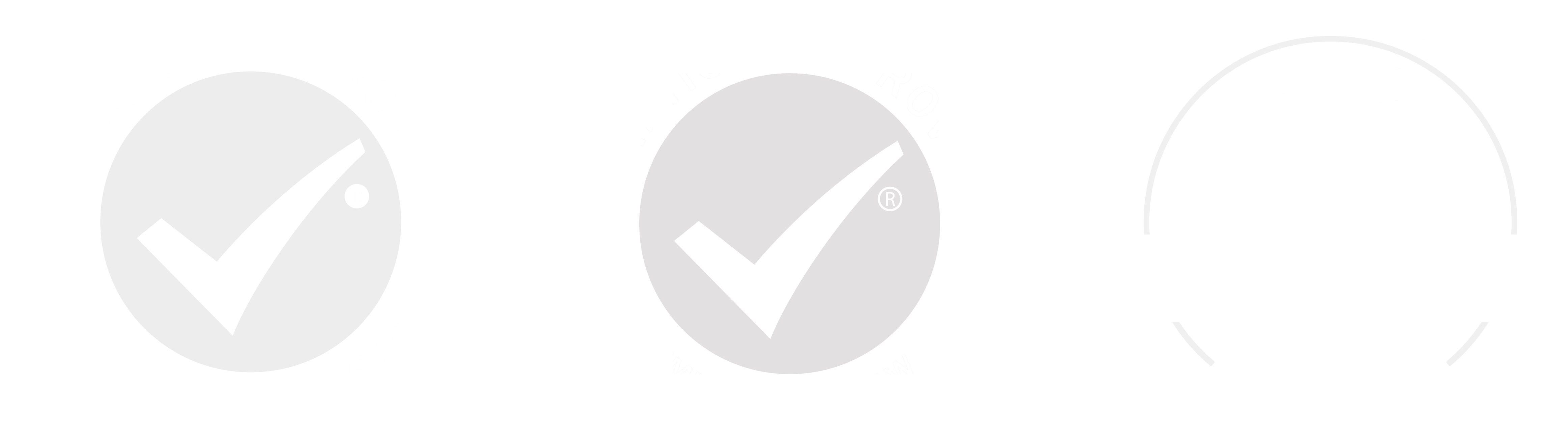 We are certified